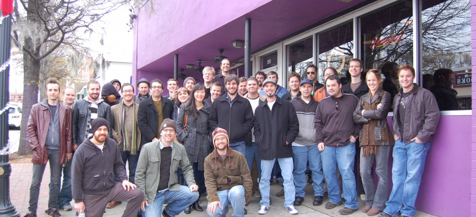 Group shot from Happenstance 2009